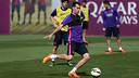 Sergio Busquets is among the players that will be going to Espanyol / MIGUEL RUIZ-FCB