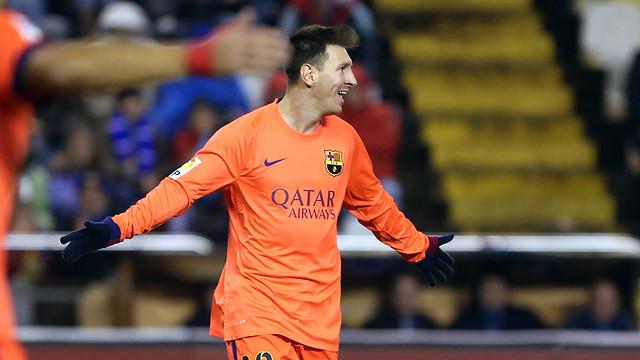 Messi, celebrant un gol