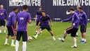 Le Barça à l'entraînement/ MIGUEL RUIZ - FCB