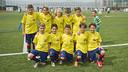 The U10 A team after mathematically clinching the title / VÍCTOR SALGADO - FCB