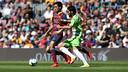 Sergio Busquets and Lafita / MIGUEL RUIZ-FCB