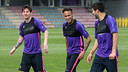 Messi, Neymar Jr and Suárez are among the names in the squad / MIGUEL RUIZ-FCB