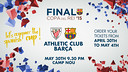 Copa del Rey final, May 30 at Camp Nou