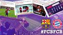 FC Barcelona v FC Bayern on social networks