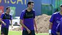 Sergio Busquets, jeudi matin / MIGUEL RUIZ-FCB