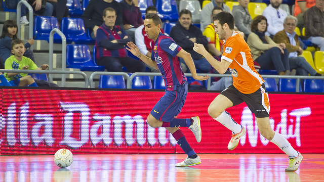 Aspil Vidal Ribera Navarra le remonta al FC Barcelona