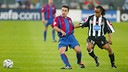 Xavi i Davids / MIGUEL RUIZ-FCB