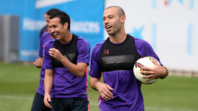 FC Barcelona prepared Friday for their final La Liga match of the season. / FCB ARCHIVE