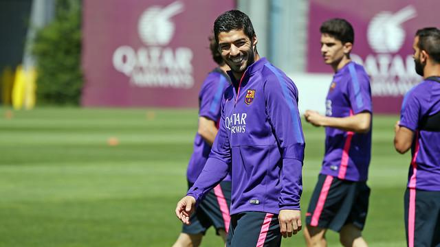 Luis Suárez has been recovering from a hamstring injury. / MIGUEL RUIZ - FCB