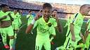 Neymar at the Calderon