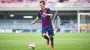 Grimaldo se perderá lo que queda de temporada por culpa de una lesión en el tobillo izquierdo /  FCB