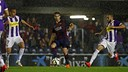 Samper against Valladolid /MIGUEL RUIZ-FCB