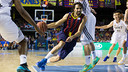 Sada in his final game at the Palau Blaugrana / GERMAN PARGA-FCB