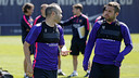 Iniesta et Jordi Alba, jeudi / MIGUEL RUIZ - FCB