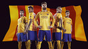 The Barça second strip in 2015/16 /NIKE