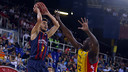 Satoransky was the standout Barça player with a 23 point valuation/ MIGUEL RUIZ - FCB