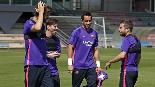 Barça back at training on Monday morning at 11.00am CET / MIGUEL RUIZ