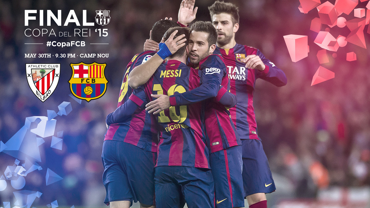 Everything ready for the Cup final at Camp Nou / Photomontage FCB