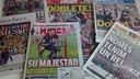 Messi a fait la une de nombreux journaux à travers le monde