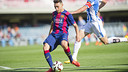 Munir opened the scoring at the Miniestadi, but Barça B were relegated. / VÍCTOR SALGADO-FCB