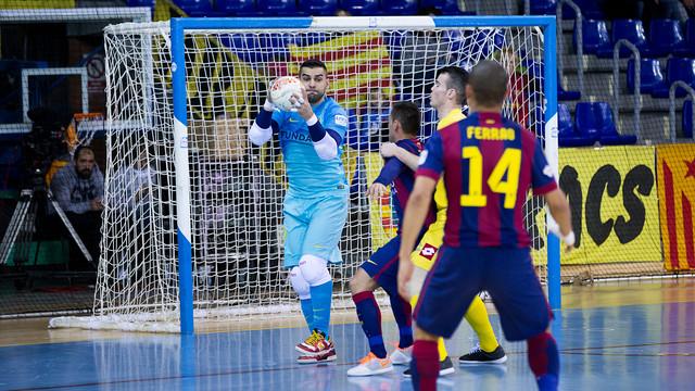 Miguel Mendiola llegó en febrero por la lesión de Cristian