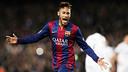 Neymar, amb el Barça