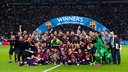 FC Barcelona have matched Bayern and Liverpool's record of five titles / GERMAN PARGA-FCB