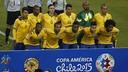 Brazil before the game against Venezuela / CA2015.COM