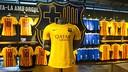 "La segunda camiseta, inspirada en la ""senyera"" / VÍCTOR SALGADO - FCB"