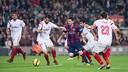 Messi, lors de la victoire au Camp Nou (5-1) / GERMÁN PARGA-FCB