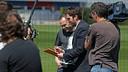 Barça TV filming with Andrés Iniesta / FCB