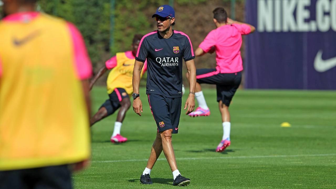 Luis Enrique realitzarà la seva segona pretemporada amb el Barça / MIGUEL RUIZ-FCB