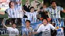 Leo Messi lideró a Argentina hacia el título mundial Sub-20 en 2005 / Fotomontaje FCB