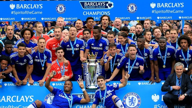 Chelsea 2014/15 champions