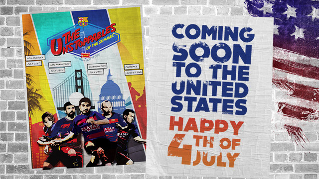 FC Barcelona will be travelling to the USA later this month / FCB