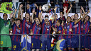 Xavi, avec la Ligue des Champions / MIGUEL RUIZ-FCB