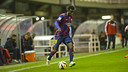 Diawandou Diagne en un partido en el Miniestadi / VÍCTOR SALGADO - FCB