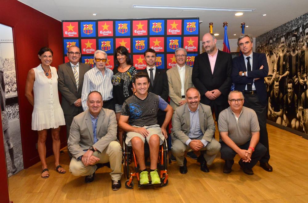 El jurado del 6º Premio Barça Jugadors / AGRUPACIÓ BARÇA JUGADORS