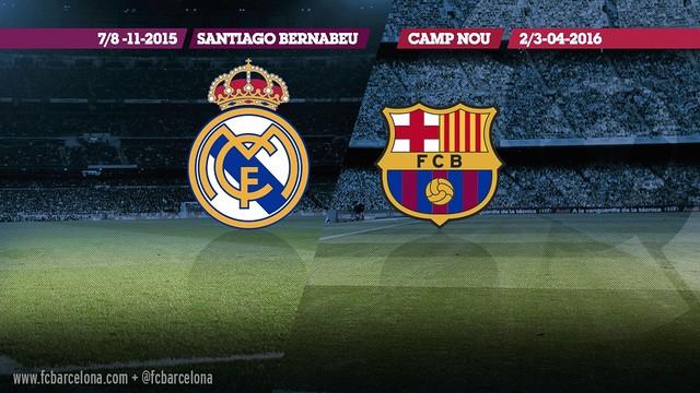 Les dates des deux rencontres / FCB