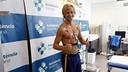 Rakitic undergoes medical testing. / MIGUEL RUIZ-FCB