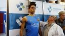 Marc Bartra, pendant les tests médicaux / MIGUEL RUIZ-FCB