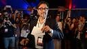 Agustí Benedito casts his vote / JOANA BURGUES - FCB