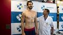 Pau Ribas ha passat la revisió mèdica a la Ciutat Esportiva / VÍCTOR SALGADO - FCB