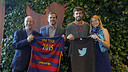 The FC Barcelona and Twitter representatives in San Francisco / MIGUEL RUIZ - FCB