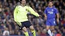 Messi at Stamford Bridge in the 2005/06 meeting / MIGUEL RUIZ - FCB