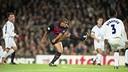 Rivaldo, en quarts de finale de la Ligue des Champions 2000 / ARCHIVES-FCB