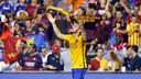 Sandro a inscrit le second but du Barça et son tir au but/ MIGUEL RUIZ-FCB