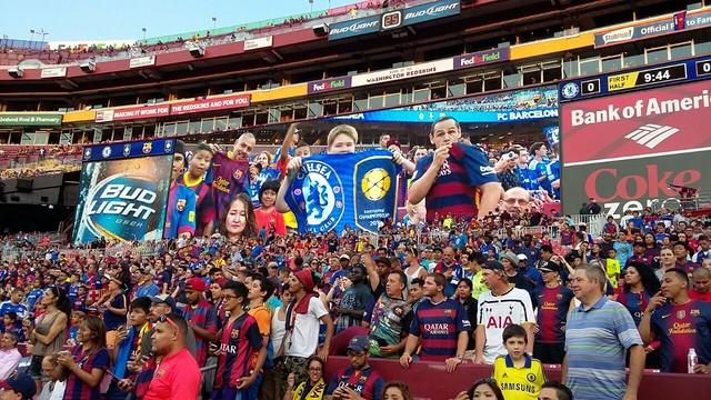 Blaugrana fans in Washington / FCB