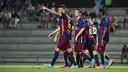 El equipo conseguía la segunda victoria de la pretemporada en dos partidos / VICTOR SALGADO-FCB