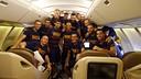 La plantilla del Barça, a un avió de la Gira / MIGUEL RUIZ - FCB